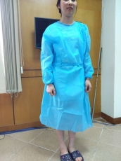 Medical protective gown (skirt type)